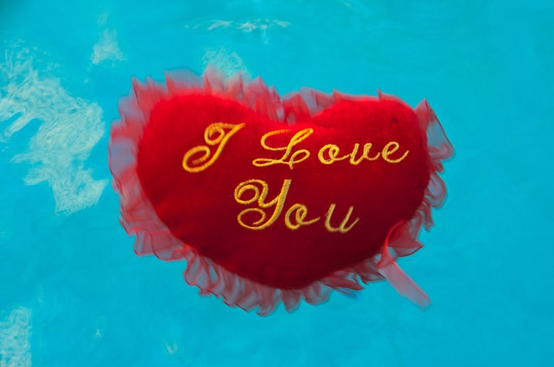 Photographers of Las Vegas - Concept Photography - i love you floating heart