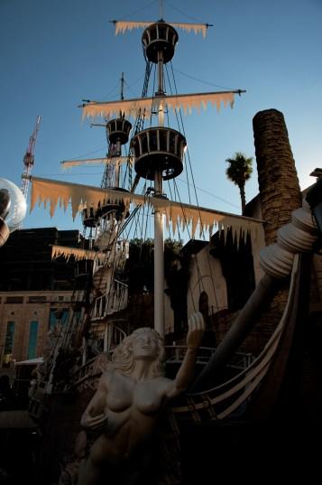 Photographers of Las Vegas - Architectural Photography - Treasure Island pirate ship