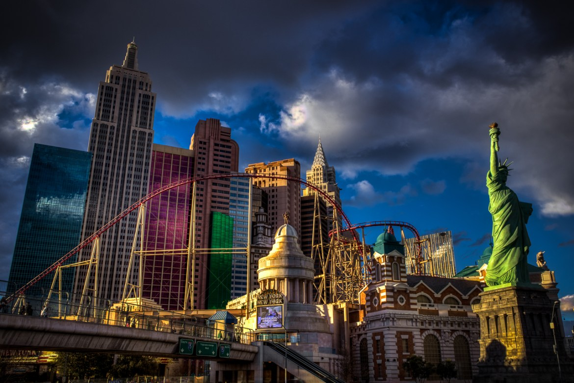 Photographers of Las Vegas - Architectural Photography - New York, New York hotel