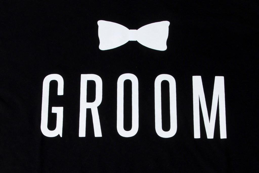 Photographers of Las Vegas - Product Photography - Groom T-Shirt close up
