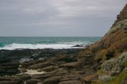 Stormy Seas at Flinders Blowhole, near Cape Schanck