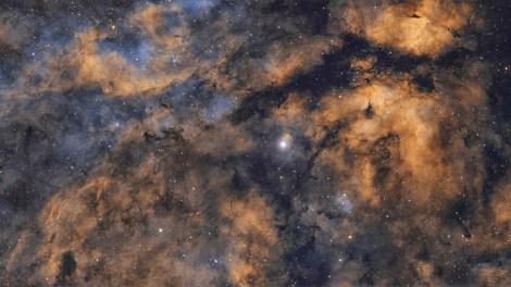 Gamma Cygni Nebula, by André van der Hoeven