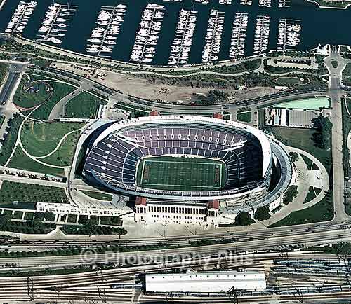 More Chicago Skyline Aerial Photos Including O Hare And The Newly Renovated Soldier Field