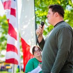 Singing of the National Anthem by Sgt. Aaron Fraley - Dayton Photographer Alex Sablan