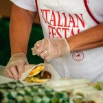 Sausage Sub at the Italian Fall Festa - Dayton Photographer Alex Sablan
