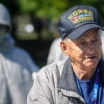 A Korean War Veteran at the Korean War Memorial - Dayton Photographer Alex Sablan