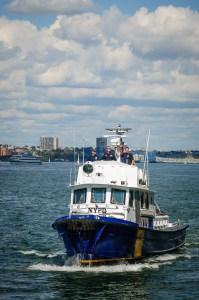 NYCPD Dive Team on the Hudson River - Dayton Photographer Alex Sablan