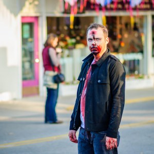 Zombie Alert by Dayton Photographer Alex Sablan