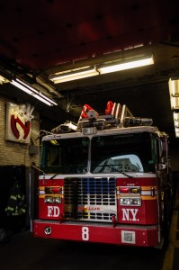 Ghostbusters Firehouse - Hook and Ladder 8