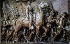 Robert Gould Shaw and the Massachusetts 54th Regiment Memorial - Boston