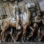 Robert Gould Shaw and the Massachusetts 54th Regiment Memorial - Boston