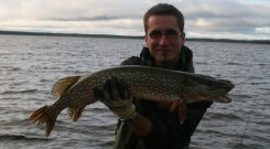 Trophy Northern Pike (Photo by Peter Greff)