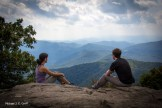 Marie and I; Blood Mountain Summit