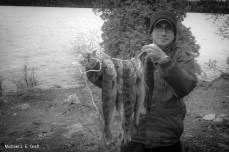 Part of my morning catch; Only needed 5 for lunch. (Photo by Big E)