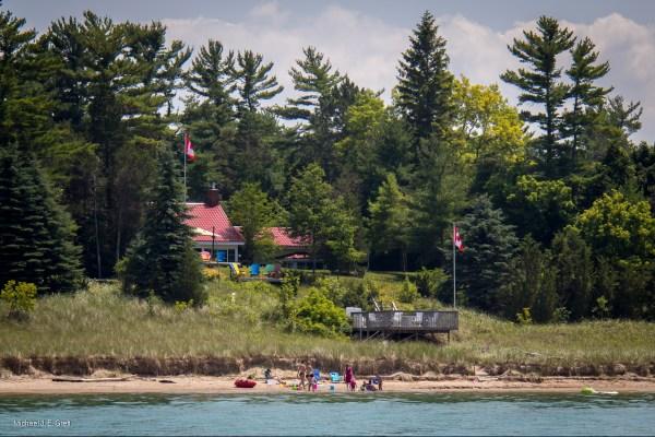 Beach O' Pines, Lake Huron, Ontario, Canada