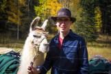 Llama Hiking