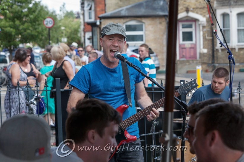 Jeremy of White Beam play at Cowley Road Carnival 2015
