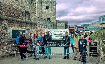 Oxford City Amnesty sponsored walk 2017