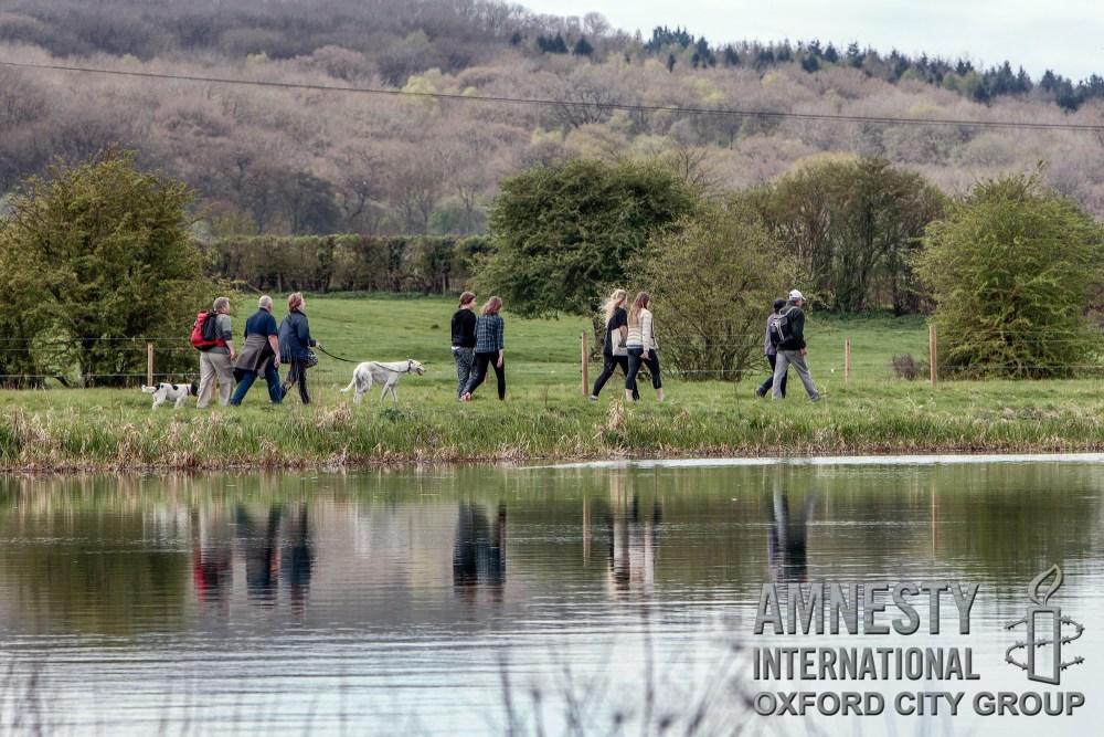 Oxford City Amnesty sponsored walk 2017