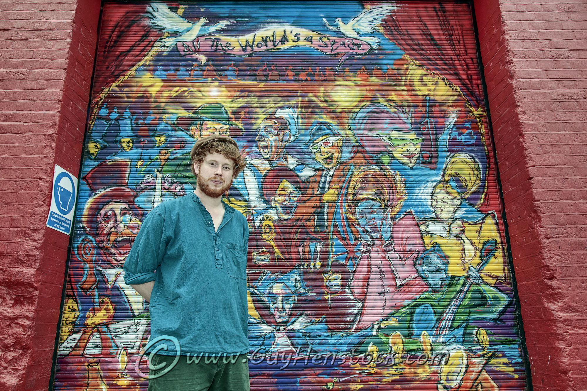 Graffiti Artwork at New Theatre Oxford by Andrew Manson