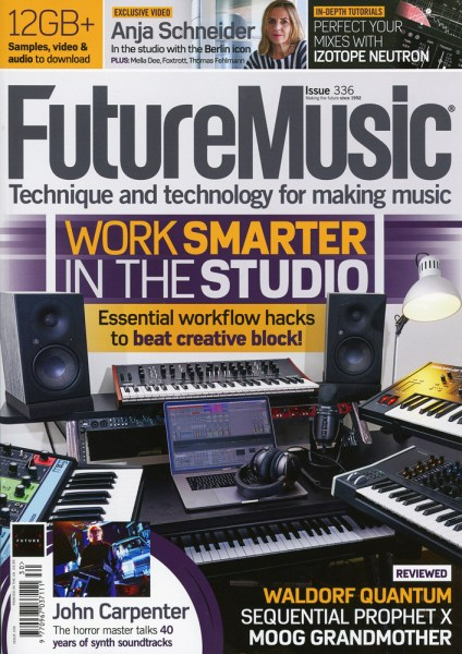 Future Music magazine Issue 336