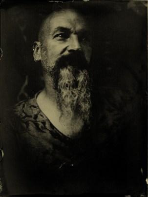 Tony - 18 x 24 cm tintype