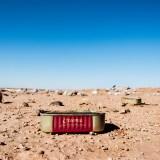 Sardine tin on wasteland
