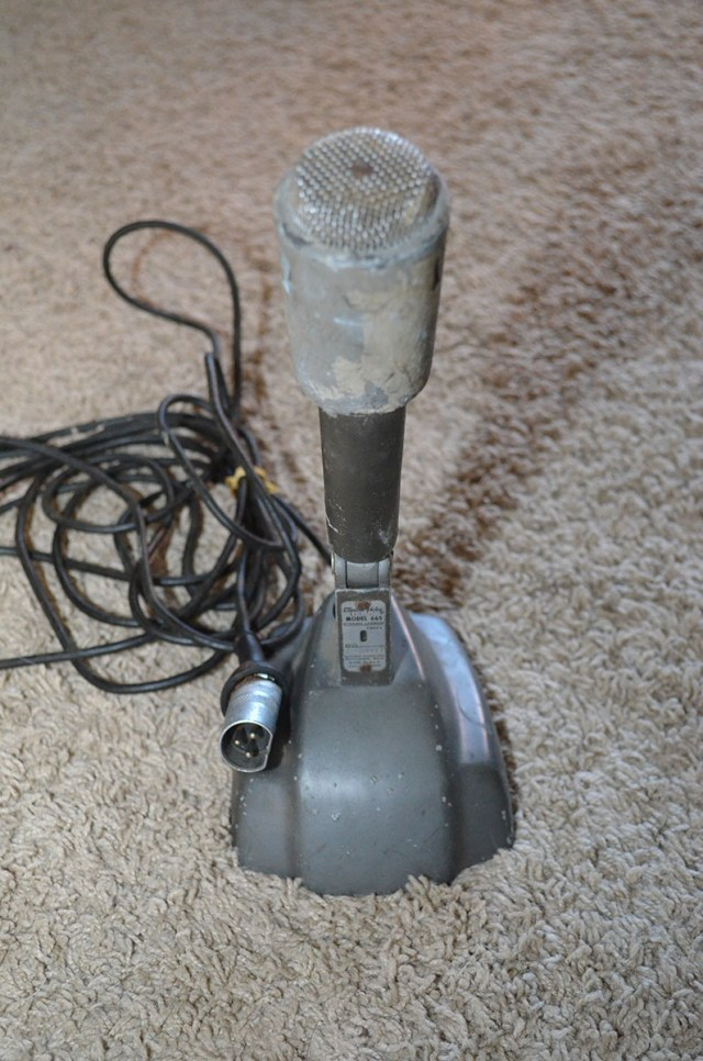 Electro Voice 665 Microphone and Stand