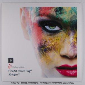9 FineArt Photo Rag, Full