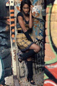 Shaleen in Graffiti Alley