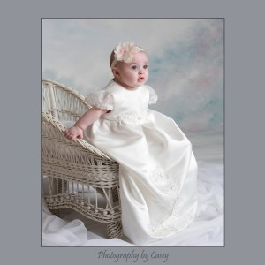 Photography of Baby in Christening Gown