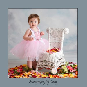 Photographer of baby girls in tutus