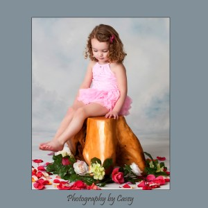 Photography of little girl in tutu