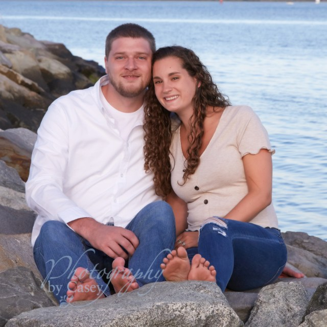 Couples portraits at the beach