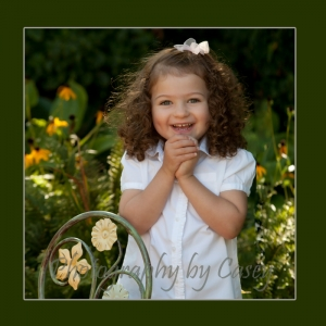 Photography of children outdoors