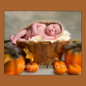Pumpkins and Newborn Photography