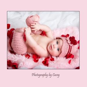 Photographer for Valentine Baby