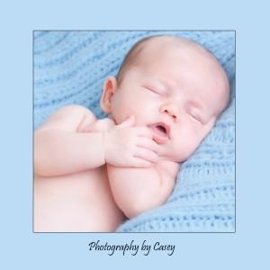 Sleepy Baby Photographer