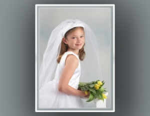 First Communion Portrait Photography