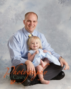 Father and daughter photography