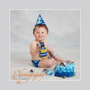 One Year Old Cake Smash Photography