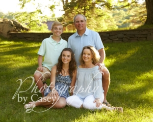 Family Portrait Photography on Location