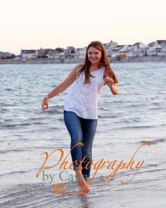 High School Senior Photography on Beach