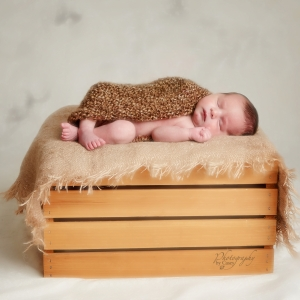 Newborn sleeping baby portraits