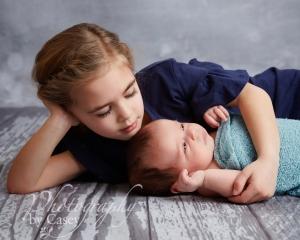 Newborn and Sibling photographs