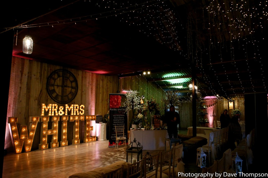 Alcumlow Wedding Barn Open Weekend