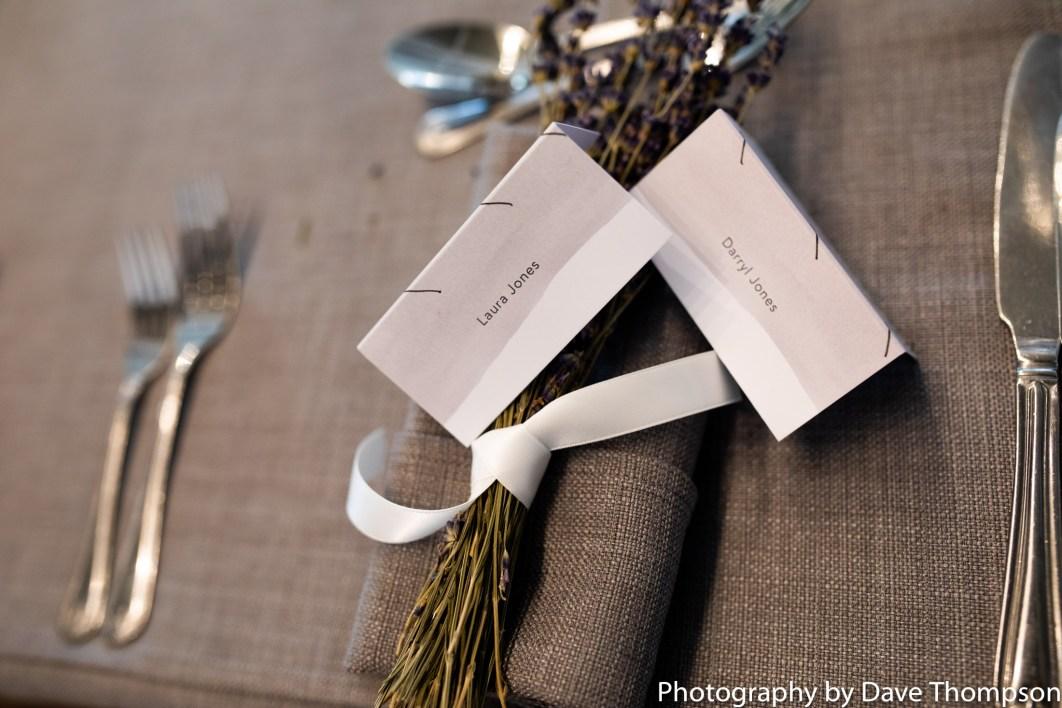 Wedding table stationary