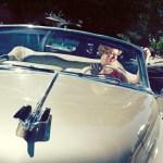 1950 Cadillac Convertible Model Photoshoot