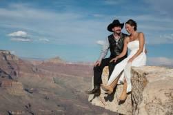 Grand Canyon Shoshone Wedding