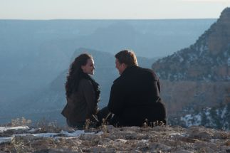 "Grand Canyon Engagement photography ""Duck on a Rock"""